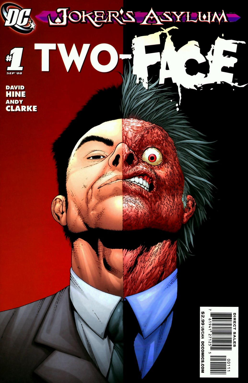 Two Face Harvey Dent: Free Comic Downloads